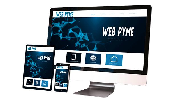 Página Web con posicionamiento Seo.