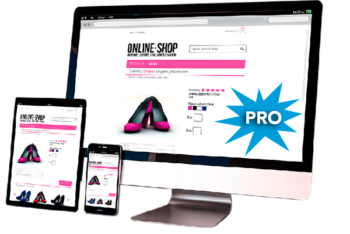 Tienda virtual para comercio electrónico. E-commerce